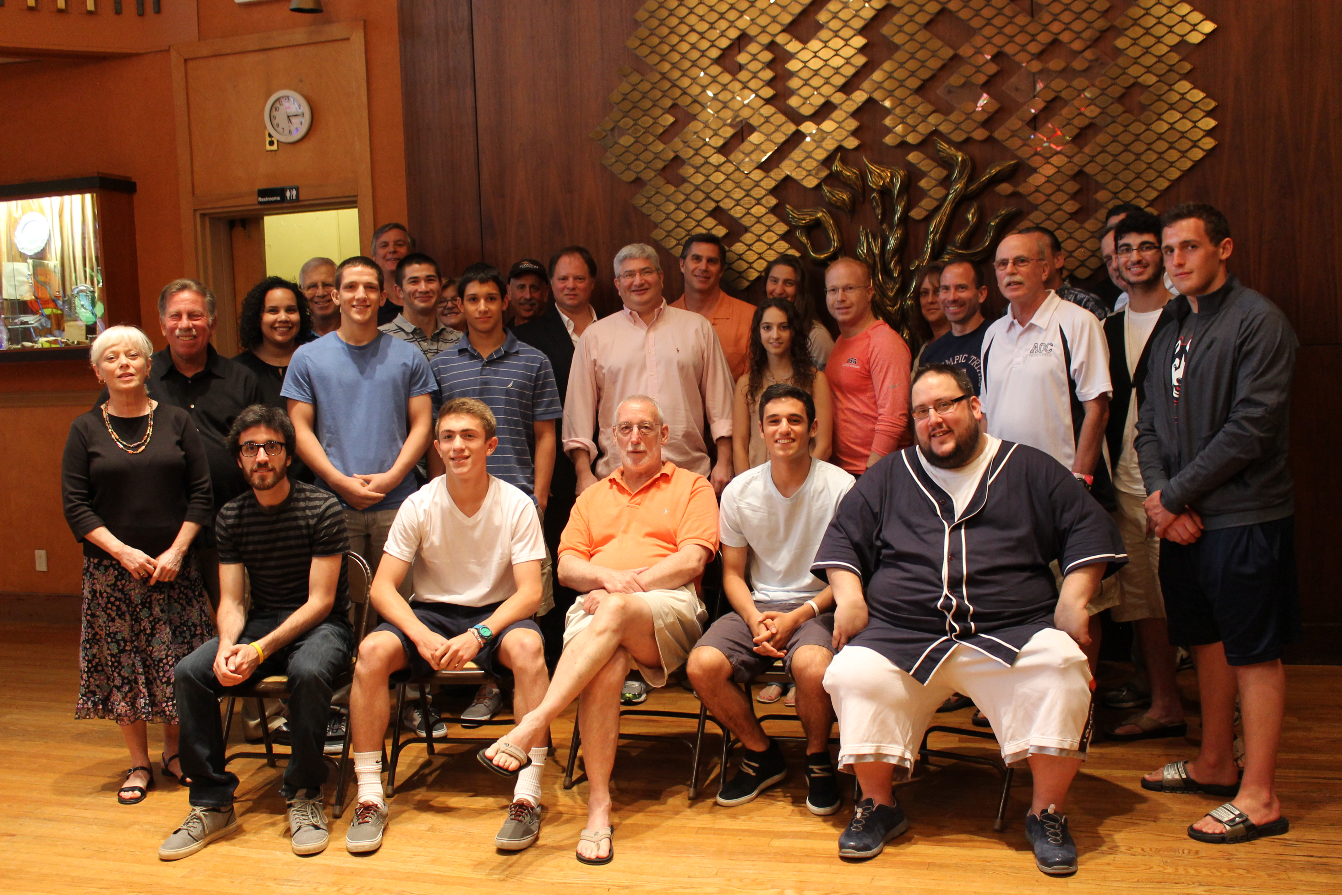 maccabiah local athletes 2013.JPG