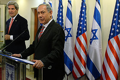 Kerry and Netanyahu Dec 5