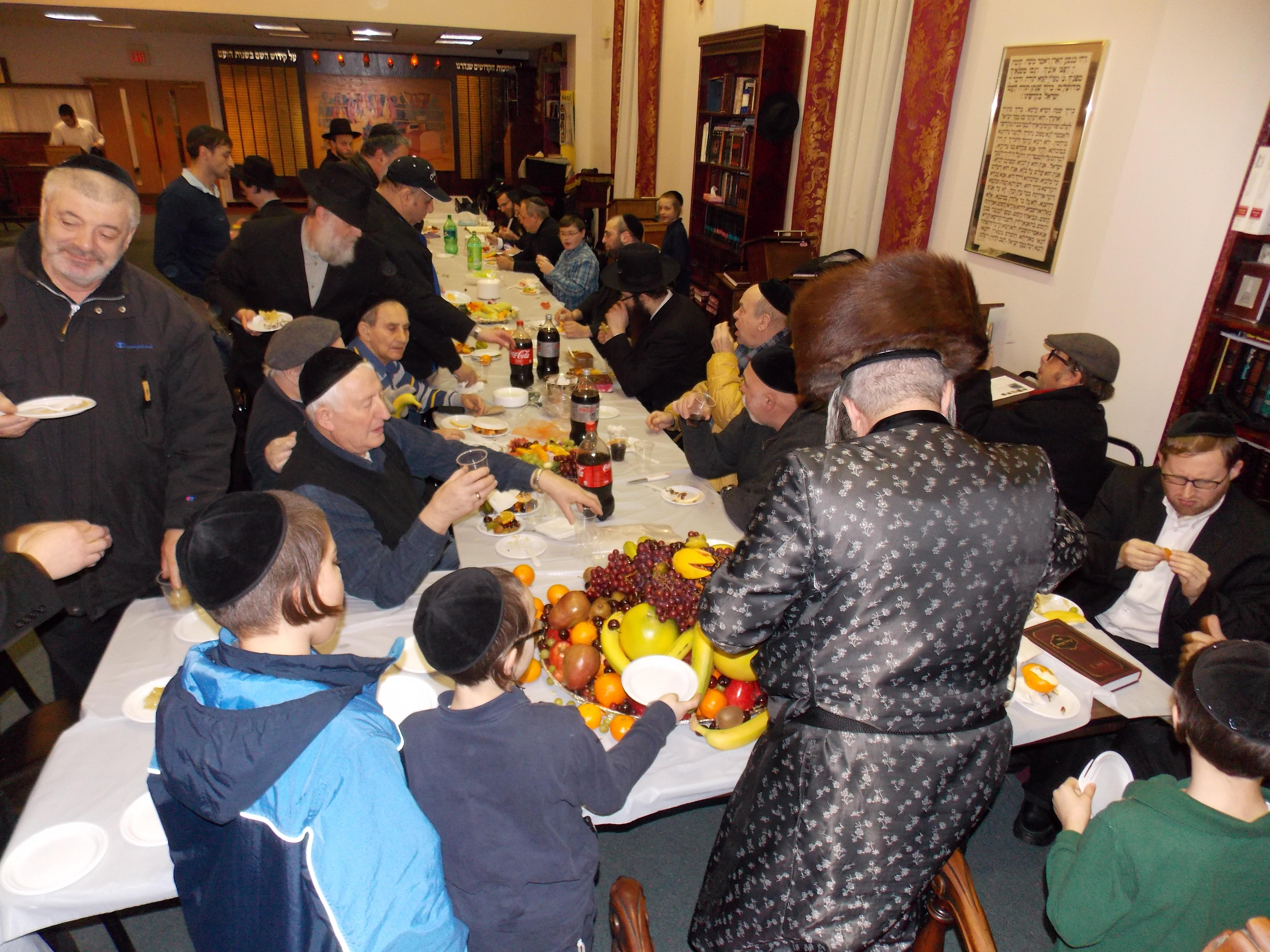 Congregation Beth Solomon Tu B'Shevat seder