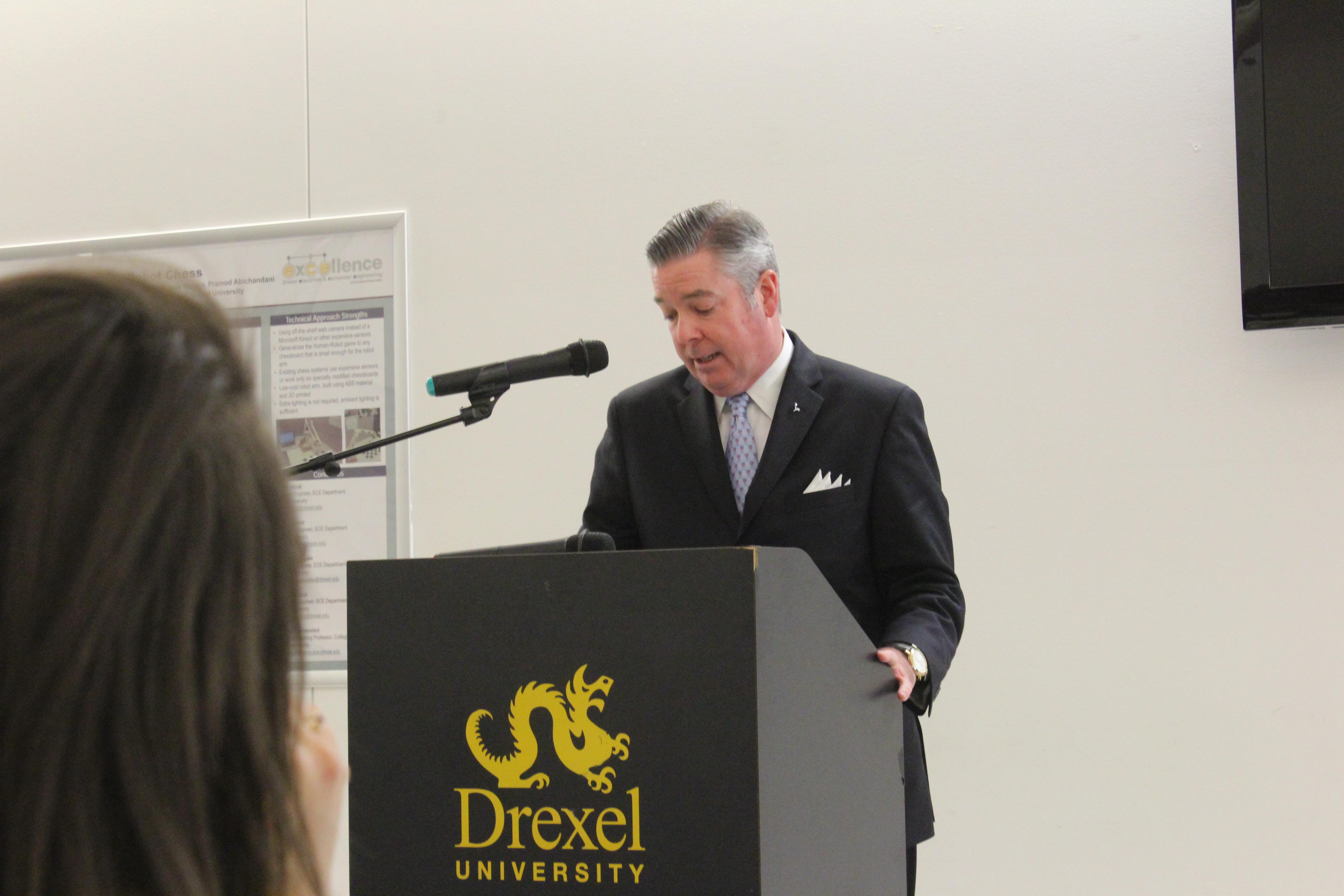 Drexel President, Professors Highlight Partnerships With