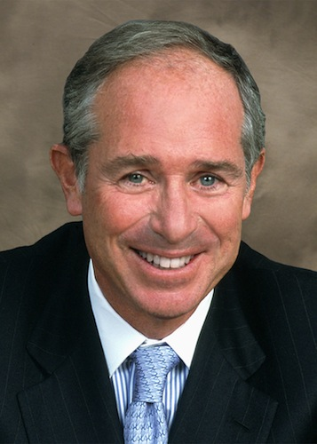 Stephen Schwarzman, chairman and CEO of Blackstone Group, is now the chair of President-elect Donald Trump's economic advisory team.
