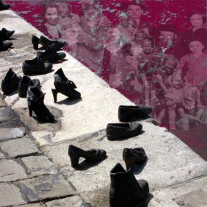 Budapest: Water into Blood, photomontage by Linda Dubin Garfield
