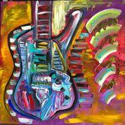 Paul Stanley paintings