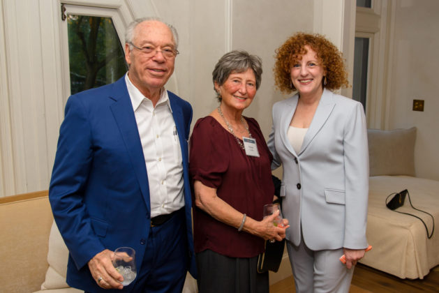 Joe Zuritsky, Renee Zuritsky and Margie Honickman