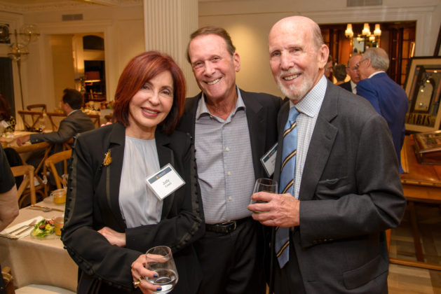 Judith Creed, Robert Schwartz and Bud Newman