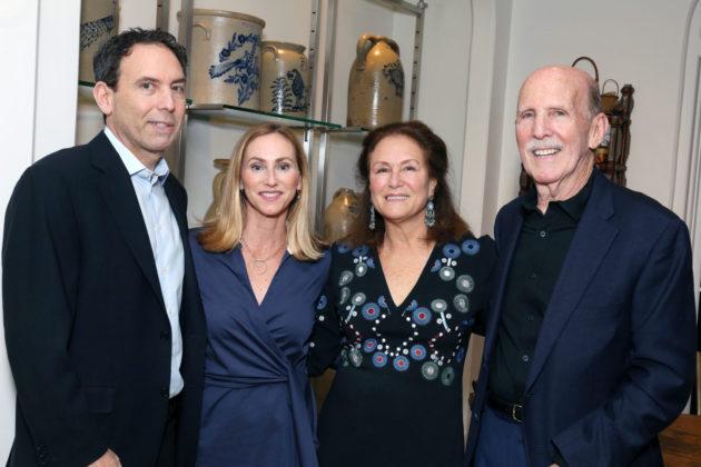 David, Lisa, Judy and Bud Newman