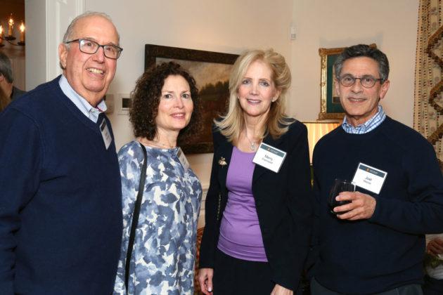 Steven Rosenberg and Bucks Kehilah co-chair Debbie Rosenberg with Merry Eisenstadt and Joel Weiner