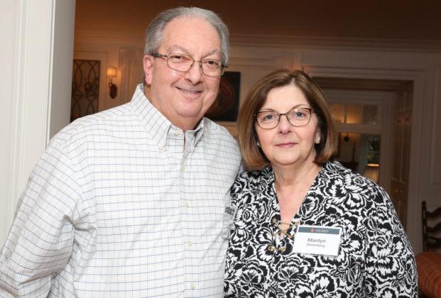 Bucks Kehilah co-chair Alan Sheinberg and Marilyn Sheinberg