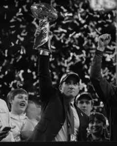 Howie Roseman celebrates win