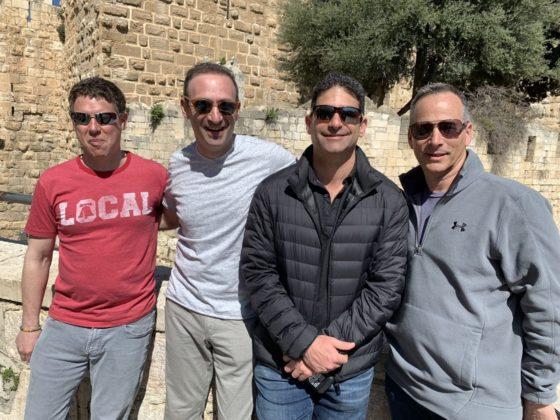 Roger Braunfeld, Hal Kanefsky, Jonathan Yellin and Louis Barson