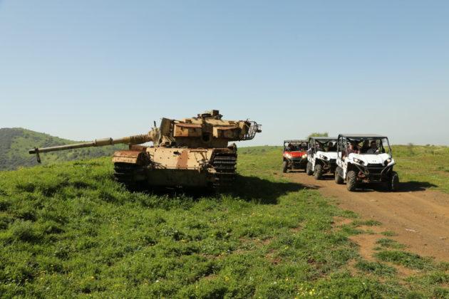 ATV rides near the Syrian border