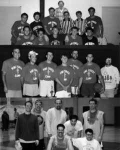1990-2006 Pine Forest Camp Jewish Basketball team