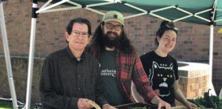 Barnett Ellis, John Eskate and Julia Harris