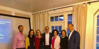 David Cohen, Jackie Needleman, Chani and Alon Monsonego, Michele Levin and Connie and Sam Katz