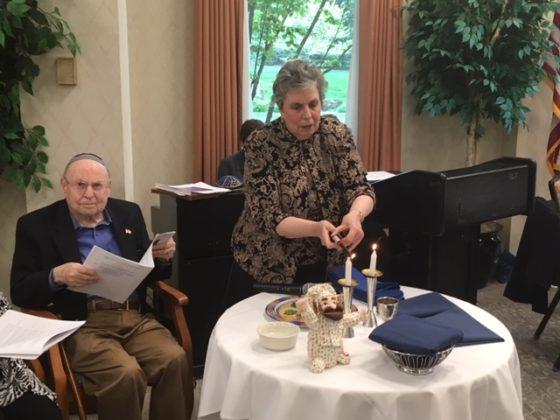 Joe Shrager and Phyllis Halpern