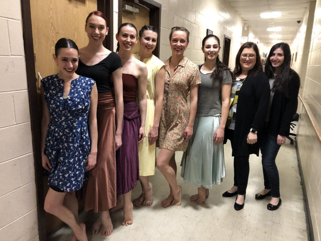 Barry: Mamaloshen in Dance performers with choreographer Asya Zlatina