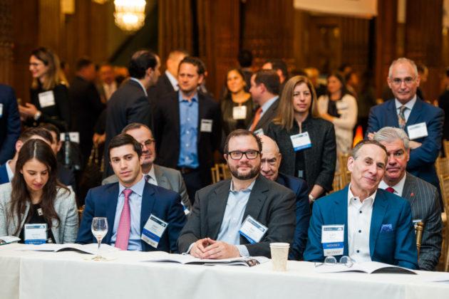Sitting From left: Jessica Gatof, Jason Morgan, Sam Klein and Larry Bergen
