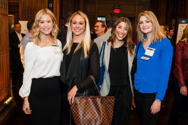 Devan West, Kelly Wolf, Samantha Hellinger and Hope Markman