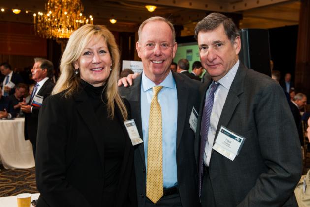 Sponsors from Citi Private Bank Barbara McCollum, Bob Rosenberg and Paul Hubert
