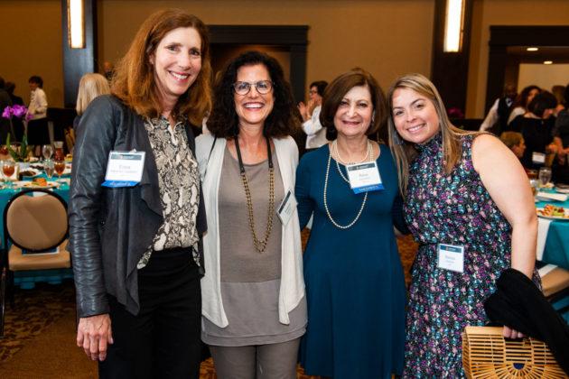 Elissa Hassman Waldstein, Andrea Gottlieb, Resa Levinson and Melissa Blatstein