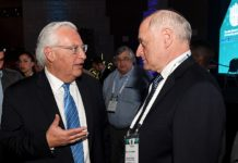 Malcolm Hoenlein and Israel David Friedman