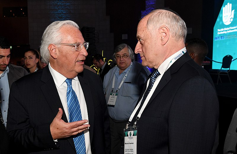 Malcolm Hoenlein and Israel David Friedman