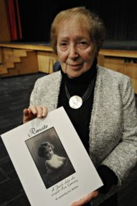 Ronnie Breslow holds her memoir