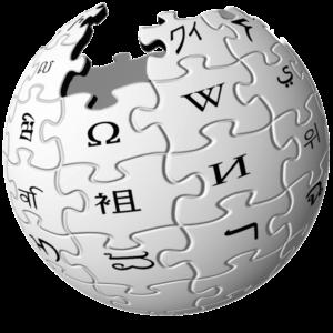 The Wikipedia logo.