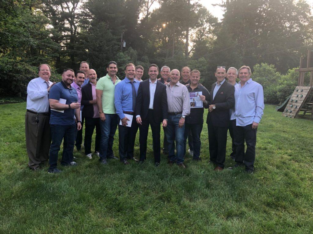 Jewish Federation Men's Mission V participants