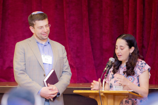 Rabbi Eric Yanoff and Rabbi Anne Lewis, the new co-presidents of the Board of Rabbis of Greater Philadelphia