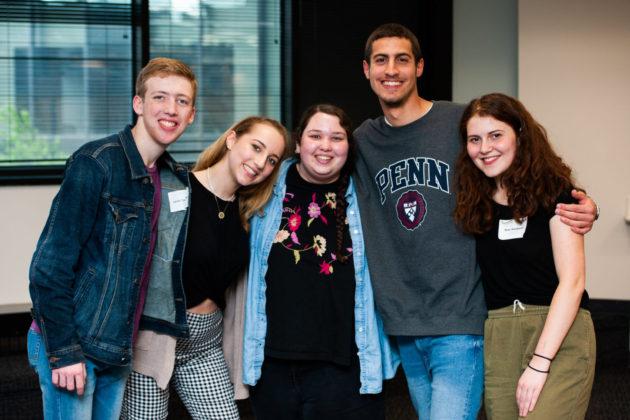 Jacob Marder, Samantha Dichter, Sarit Held, Ido Yaaran and Rose Mandel Weinbaum