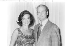 Lew Klein, who worked at Temple University for decades, and Janet Klein in an undated photo