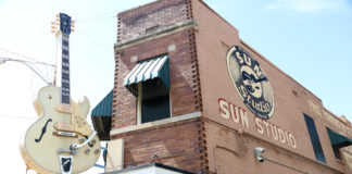 Sun Studio in Memphis, where Elvis Presley recorded music