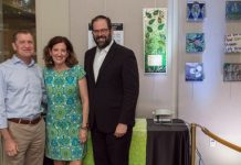 Dave Kalla, Susan Ribnick and Rabbi Neil F. Blumofe, of Congregation Agudas Achim in Austin