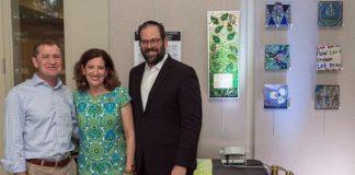 Dave Kalla, Susan Ribnick and Rabbi Neil F. Blumofe, of Congregation Agudas Achim in Austin