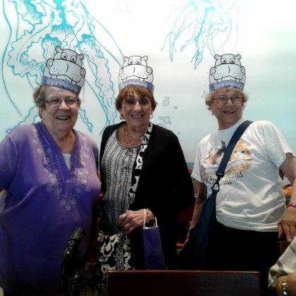Carol Gabel, Elaine Hahn and Elaine Van Brecht