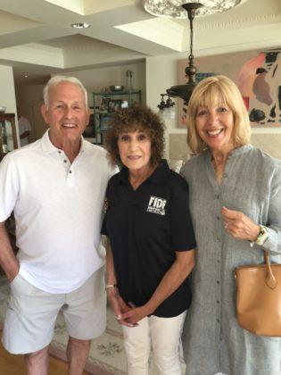 lan Klein, Sivy Blume and Susan Klein