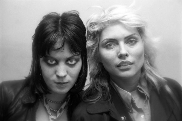 'Devil and Angel' (Joan Jett and Deborah Harry) in Philadelphia, 1979