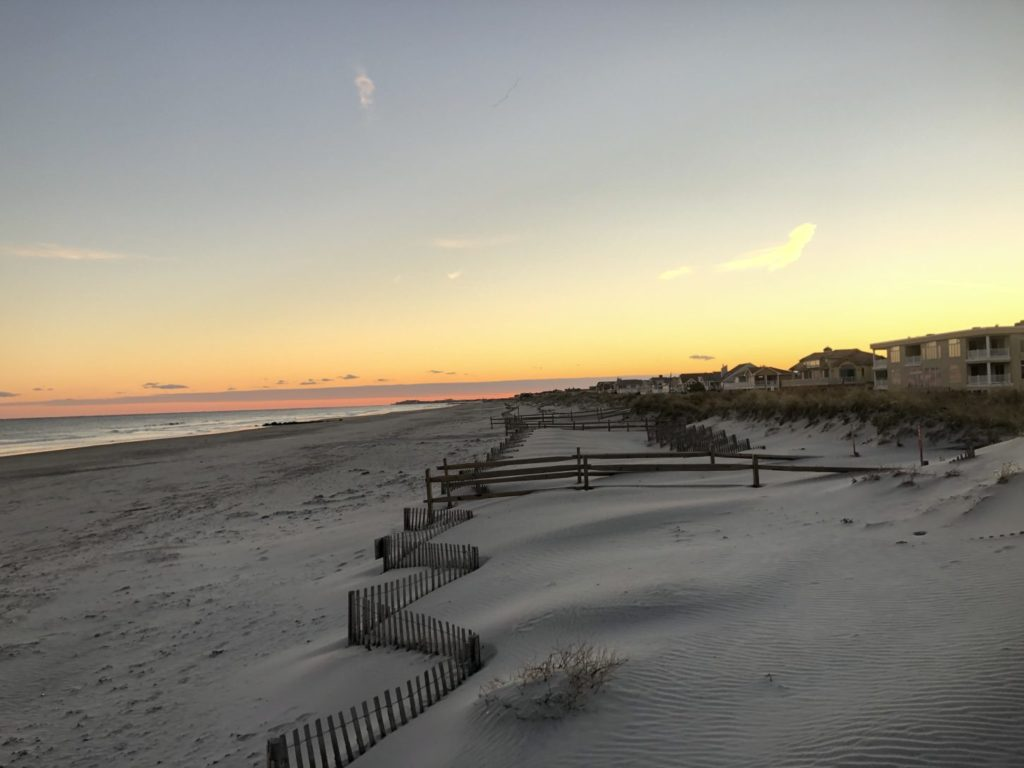 Beach at Cape May on the New Jersey shore