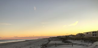 Beach at Cape May, New Jersey