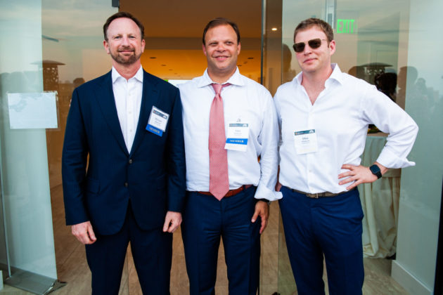 Michael Markman, Matt Pestronk and Mike Pestronk