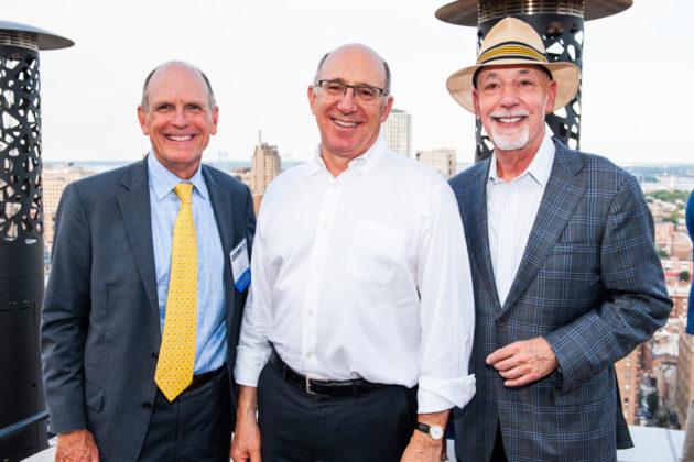 Sid Smith, David Feldman and Bob Freedman