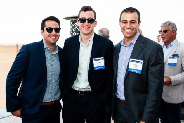 Akiva Goldstein, Andrew Nemrofff and Gabe Amzallag