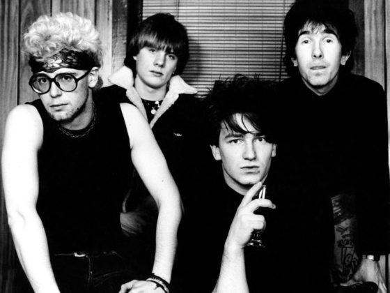 U2 at Philadelphia's Bijou Café in 1980