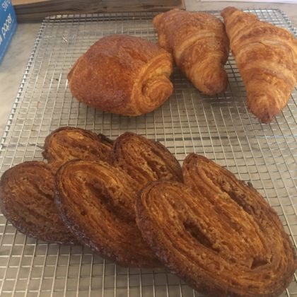 Elephant ears and croissants at Bloomsday
