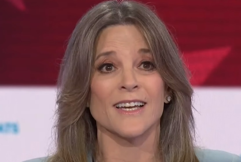 Marianne Williamson at the Democratic Presidential debate