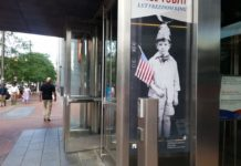 The entrance to the National Museum of American Jewish History