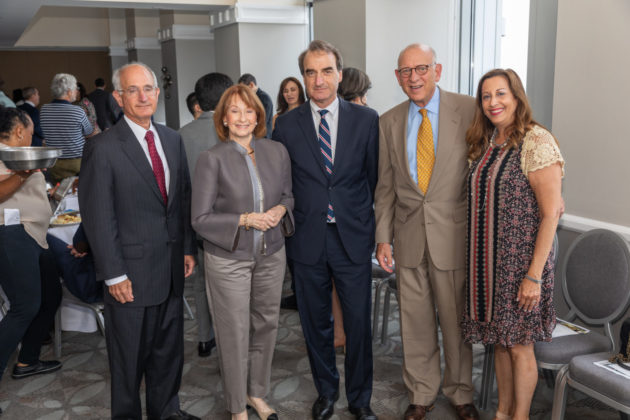 David Smith, Sally Cooper Bleznak, Jason Isaacson, Fred Strober and Marcia Bronstein