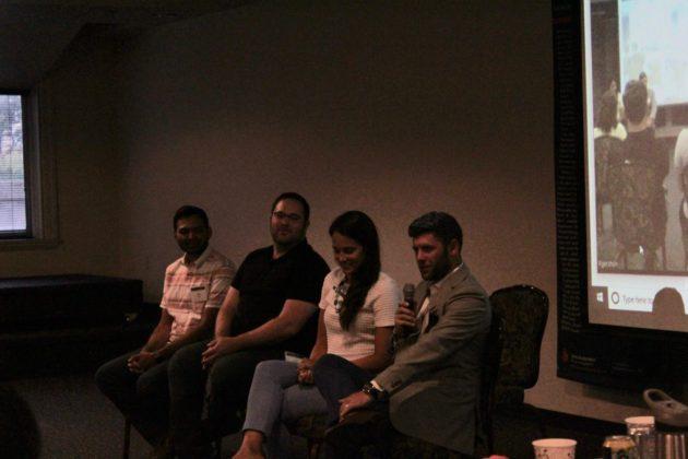 Neil Patel, Jason Freedman, Judith Trevino and Josh Isenberg