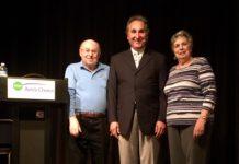 Joe Shrager, Karl Middleman and Phyllis Halpern